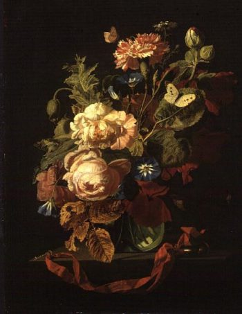 Vase of Flowers 1669 | Simon Peeterz Verelst | oil painting