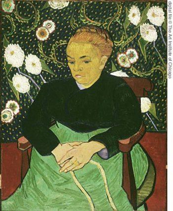 Madame Roulin Rocking the Cradle (La Berceuse) | Vincent Van Gogh | oil painting