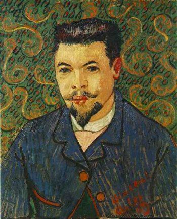 Portrait of Doctor Felix Rey | Vincent Van Gogh | oil painting