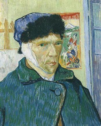 Self-Portrait with Bandaged Ear | Vincent Van Gogh | oil painting