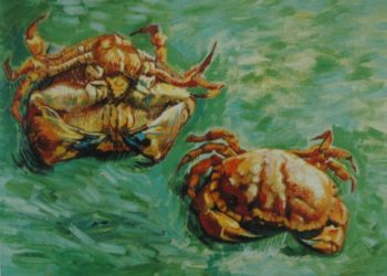 Two Crabs | Vincent Van Gogh | oil painting