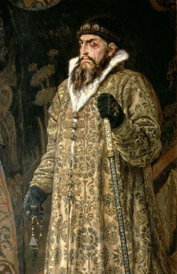 Tsar Ivan IV Vasilyevich the Terrible | Victor Mikhailovich Vasnetsov | oil painting