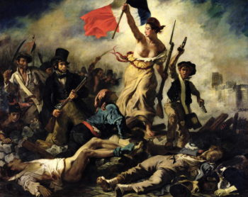 Liberty Leading the People 28 July 1830 | Eugene Delacroix | oil painting