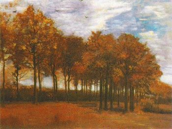 Autumn Landscape | Vincent Van Gogh | oil painting