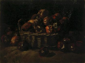 Basket of Apples version 2 | Vincent Van Gogh | oil painting