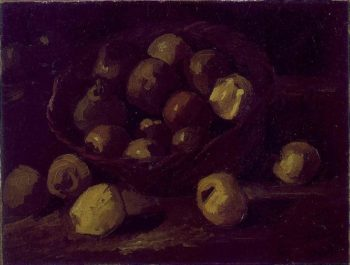 Basket of Apples | Vincent Van Gogh | oil painting