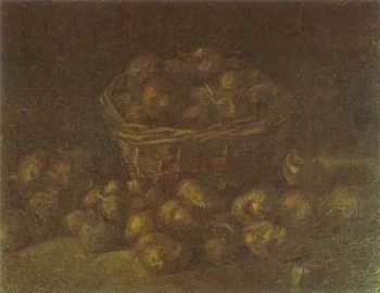 Basket of Potatoes version 2 | Vincent Van Gogh | oil painting