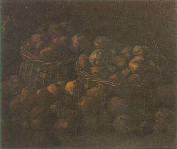 Baskets of Potatoes | Vincent Van Gogh | oil painting