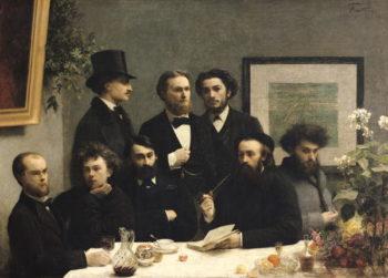 A Corner of the Table 1872   Ignace Henri Jean Fantin Latour   oil painting