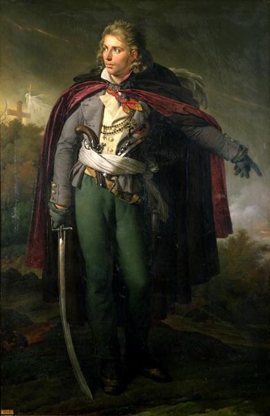 Jacques Cathelineau | Anne Louis Girodet de Roucy Trioson | oil painting