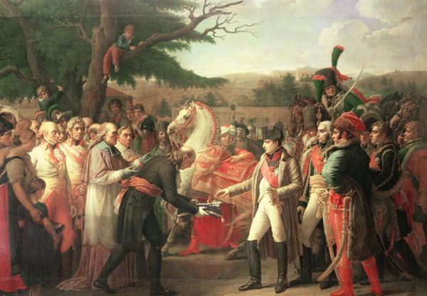 Napoleon Bonaparte | Anne Louis Girodet de Roucy Trioson | oil painting