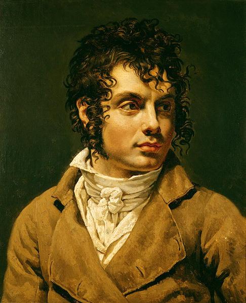 Portrait of a Man | Anne Louis Girodet de Roucy Trioson | oil painting