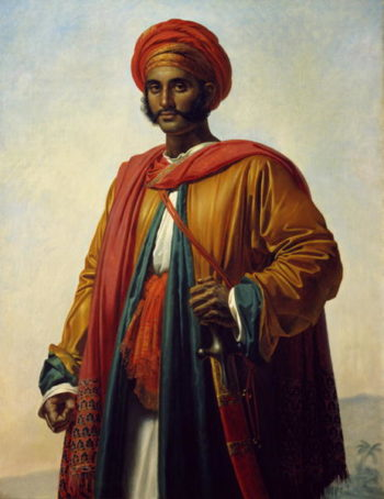 Portrait of an Indian | Anne Louis Girodet de Roucy Trioson | oil painting