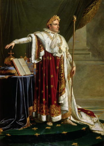 Portrait of Napoleon Bonaparte | Anne Louis Girodet de Roucy Trioson | oil painting