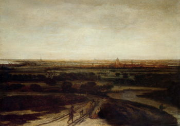 A Dutch Landscape | Phillips de Koninck | oil painting