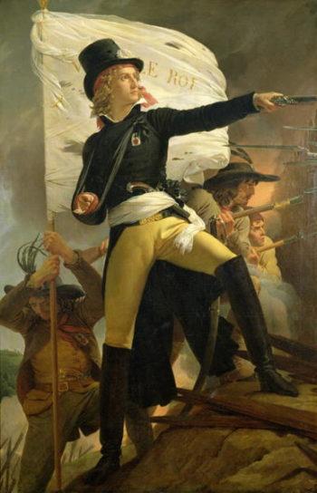 Henri de La Rochejaquelein | Baron Pierre Narcisse Guerin | oil painting