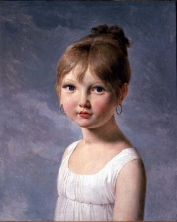 The Artists Daughter | Baron Pierre Narcisse Guerin | oil painting