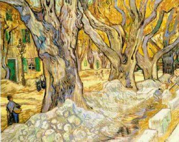 The Road Menders | Vincent Van Gogh | oil painting