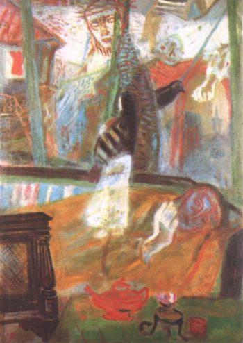Dreamer 1938 | Imre Amos | oil painting