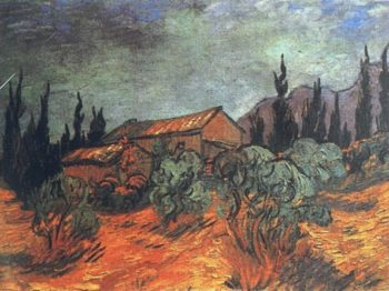 Wooden Sheds | Vincent Van Gogh | oil painting
