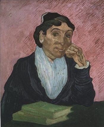 Arlesienne (Madame Ginoux) version 3 | Vincent Van Gogh | oil painting
