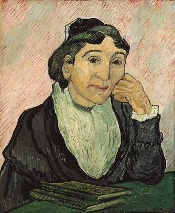 Arlesienne (Madame Ginoux) version 2 | Vincent Van Gogh | oil painting