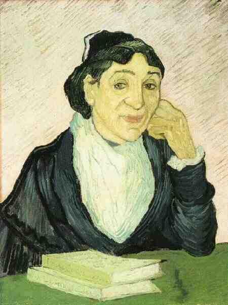 Arlesienne (Madame Ginoux)   Vincent Van Gogh   oil painting