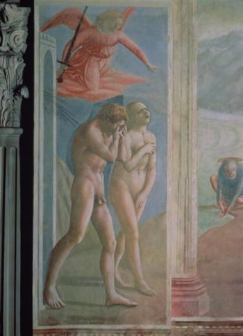 Adam and Eve banished from Paradise 1427 | Tommaso Masaccio | oil painting