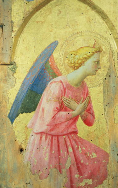 Adoration of an Angel 1430 40 | Fra Angelico | oil painting