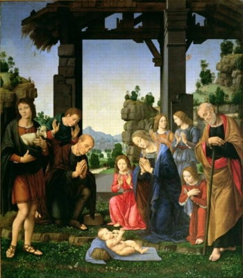 Adoration of the Shepherds 1510 | Lorenzo di Cred | oil painting