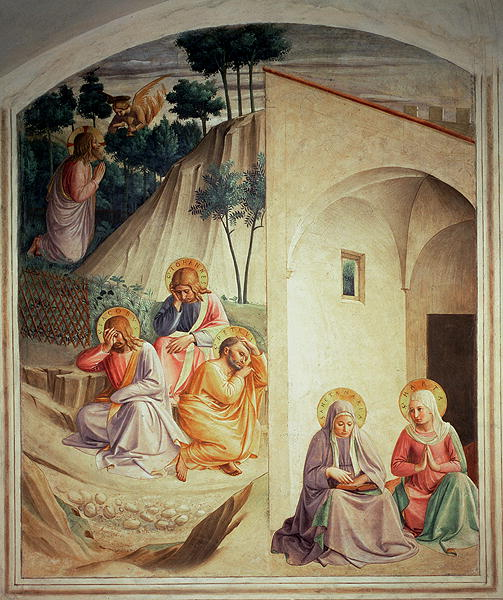 Agony in the Garden 1442 | Fra Angelico | oil painting