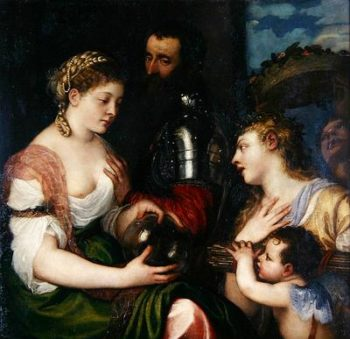 Allegory of Married Life | Titian | oil painting