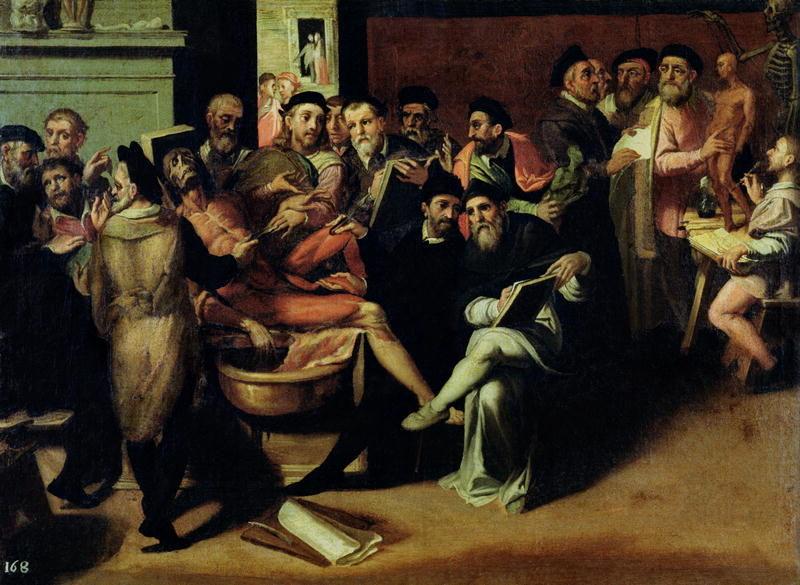 An Anatomy Lesson for Artists | Bartolomeo Passarotti | oil painting