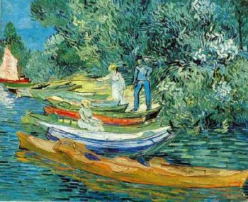 Bank of the Oise at Auvers | Vincent Van Gogh | oil painting