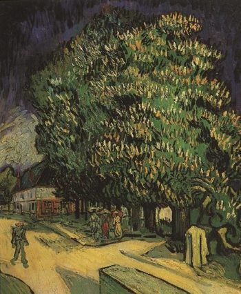 Chestnut Trees in Blossom | Vincent Van Gogh | oil painting