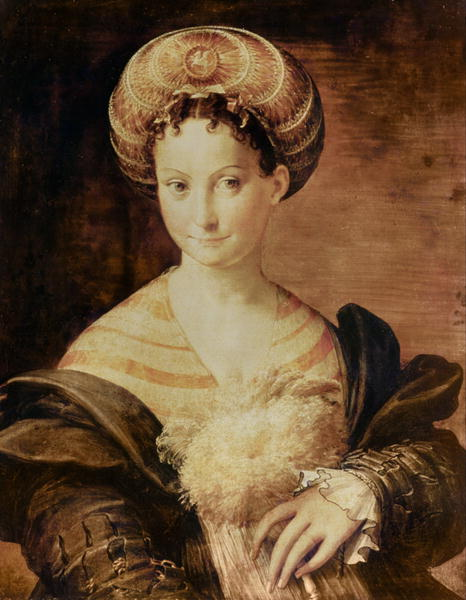 A Turkish Slave   Parmigianino   oil painting