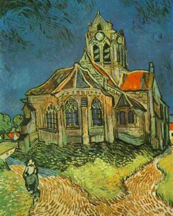 Church at Auvers | Vincent Van Gogh | oil painting