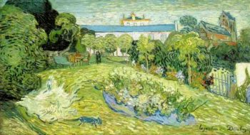 Daubignys Garden version 2 | Vincent Van Gogh | oil painting
