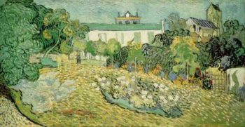 Daubignys Garden version 3 | Vincent Van Gogh | oil painting