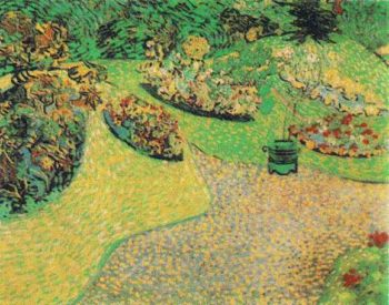 Garden in Auvers | Vincent Van Gogh | oil painting