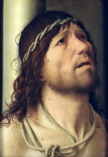 Christ at the Column 1475 | Antonello da Messina | oil painting