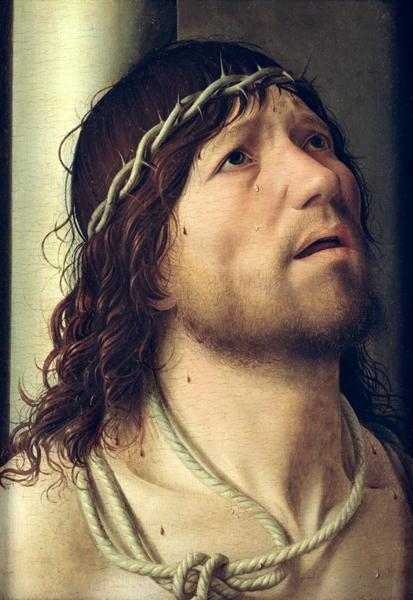Christ at the Column 1475 | Antonello da Messina | oil painting