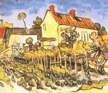 House of Pere Eloi | Vincent Van Gogh | oil painting