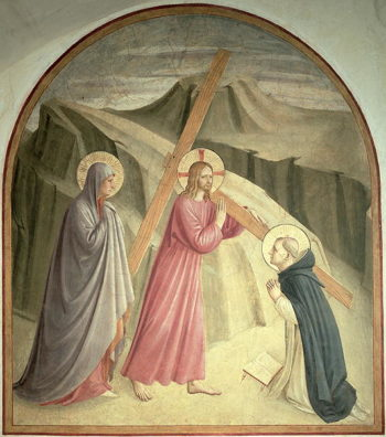 Christ Carrying The Cross 1438 45 | Fra Angelico | oil painting
