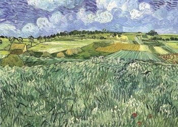 Plain Near Auvers | Vincent Van Gogh | oil painting