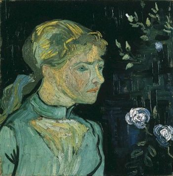 Portrait of Adeline Ravoux | Vincent Van Gogh | oil painting