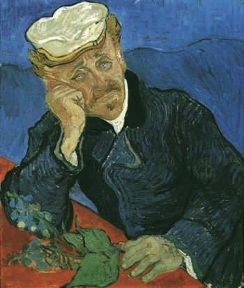 Portrait of Doctor Gachet | Vincent Van Gogh | oil painting
