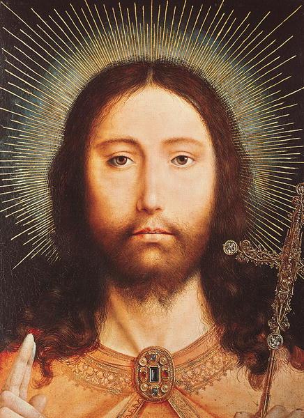 Cristo Salvator Mundi | Quentin Massys or Metsys | oil painting