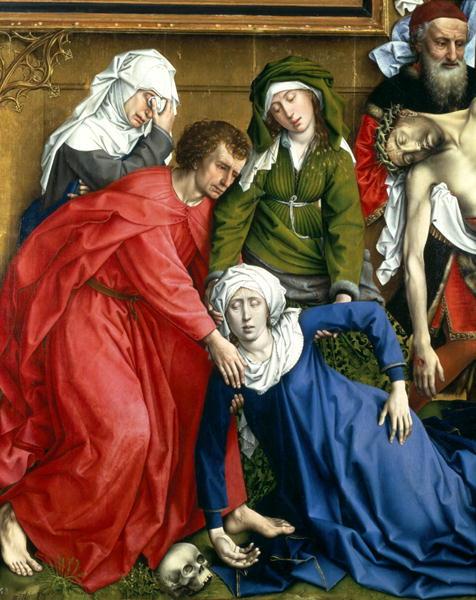Descent from the Cross 1435 | Rogier van der Weyden | oil painting