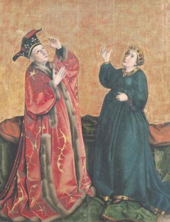 Emperor Augustus | Konrad Witz | oil painting